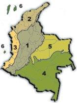 Geografia de Colombia  Relieve  Cordilleras nevados Sierra Nevada